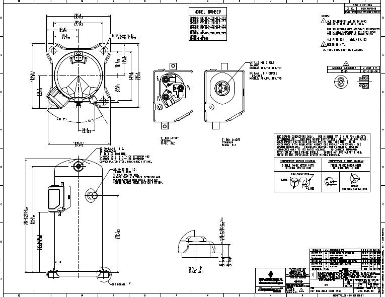Copeland ZR61K3 on copeland compressor capacitor location on, copeland scroll compressor, true refrigerator wiring diagram, ac capacitor wiring diagram, copeland compressor model number nomenclature,